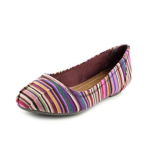 Chinese Laundry All Done Women Round Toe Canvas Flats