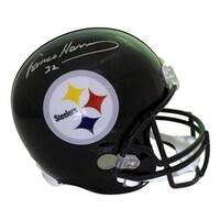 0c90bcdf6 Franco Harris Autographed Pittsburgh Steelers Replica Helmet JSA