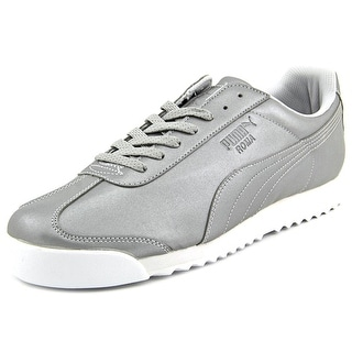 Puma Roma Reflective Men Round Toe Synthetic Silver Sneakers