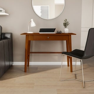 Link to Meade Warm Brown Mid-century Modern Desk Similar Items in Living Room Furniture
