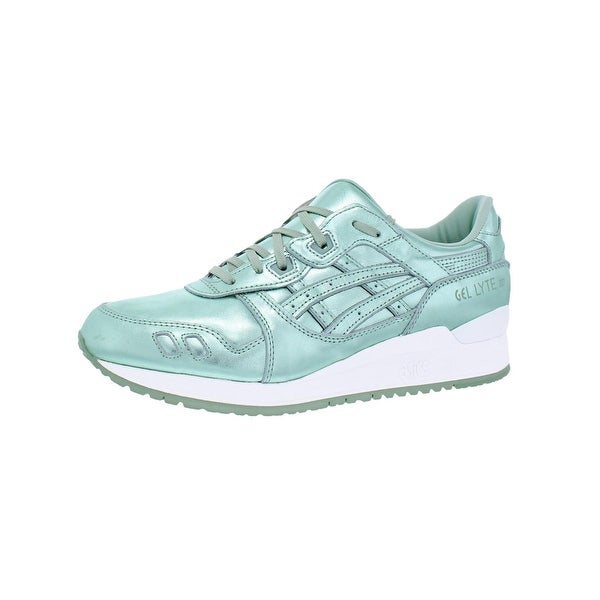 info for d7393 9e033 Shop Asics Womens Gel-Lyte III Fashion Sneakers Metallic Low ...