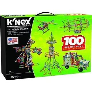 K'NEX 100 Model Imagine BUILDING SET, 863 KNEX Pieces Kids BUILDING TOYS SET