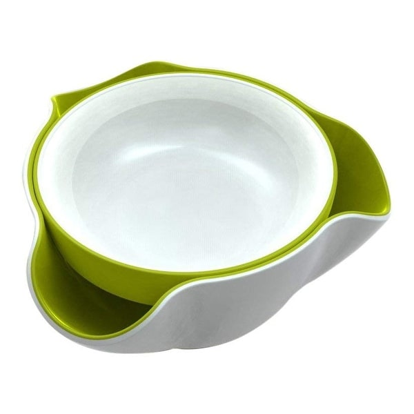 Shop Joseph Joseph DDWG010GB Double Dish Pistachio Bowl and