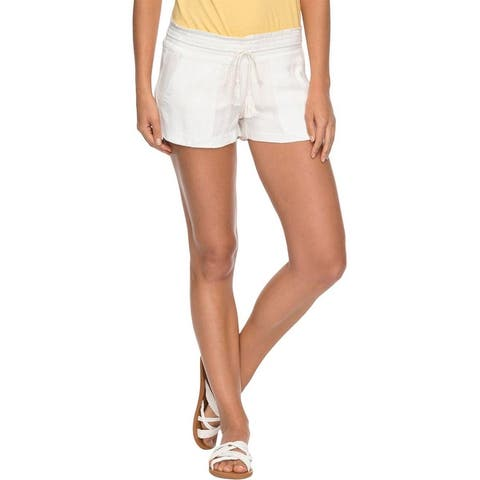 Roxy Womens Oceanside Casual Shorts Beach Soft