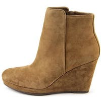 Via Spiga Womens Darina Suede Closed Toe Ankle Fashion Boots