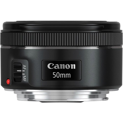 """""""Canon Fixed Focal Lens for EF Canon 50 mm f/1.8 Fixed Focal Length Lens for Canon EF - Designed for Camera - 49 mm Attachment -"""