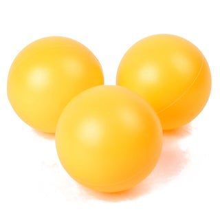 3 in 1 Leisure Plastic Balls Table Tennis Balls Orange