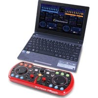 Portable & Compact USB DJ Controller w/Integrated Soundcard & Deckadance LE Software