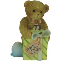 Enesco Cherished Teddies Happy 40th Birthday Figurine
