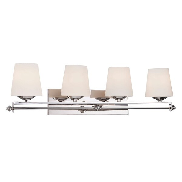 "Savoy House 8-5850-4 Aiden 33"" Wide 4 Light Bathroom Vanity Light"