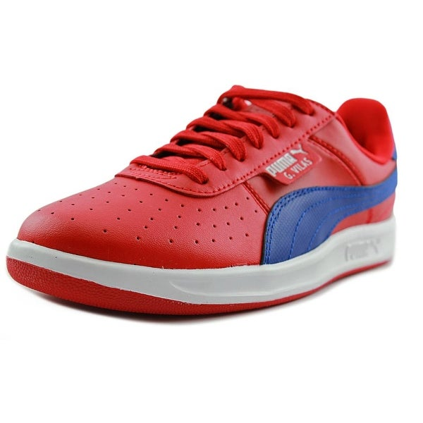 Puma G. Vilas 2 Men Round Toe Leather Red Sneakers