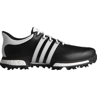 Adidas Men's Tour 360 Boost Black/White/Black Golf Shoes Q44821/Q44829