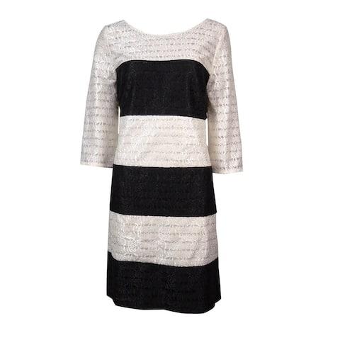Jessica Simpson Women's Colorblock Lace Dress