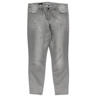 Kut Womens Bridget Ankle Jeans Light Wash Skinny Fit - 12