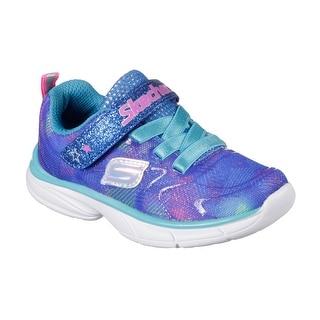 Skechers 81337L BLMT Girl's SPIRIT SPRINTZ - RAINBOW RAZ Sneaker