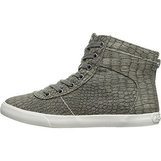 Rocket Dog Womens California Scales Canvas Snake Print Fashion Sneakers