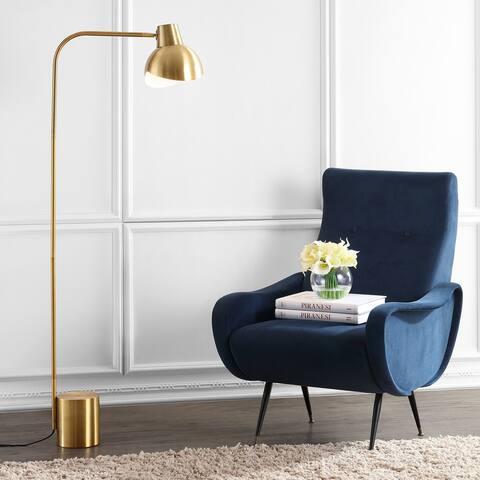 "Safavieh Lighting 58-inch Violetta Gold LED Floor Lamp - 20.5"" x 8"" x 57.5"""