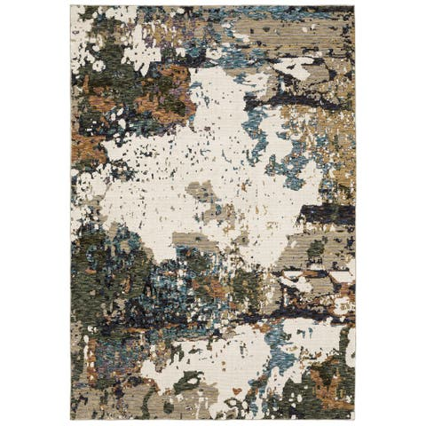 Esperanza Terra Abstract Area Rug