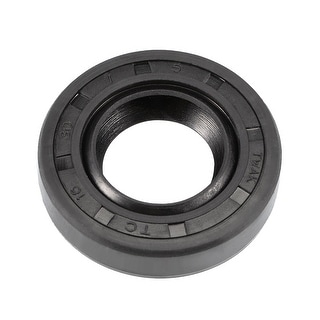 Oil Seal, TC 16mm x 30mm x 7mm, Nitrile Rubber Cover Double Lip - 16mmx30mmx7mm