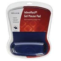 Belkin WaveRest Gel Mouse Pad,Blue (F8E262-BLU) - Blue - 11.7 x 9 x 1.4 inches
