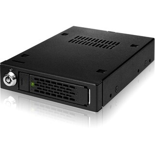 """Icy Dock MB991IK-B Icy Dock MB991IK-B Drive Enclosure Internal - Black - 1 x Total Bay - 1 x 2.5"" Bay - Serial ATA/600,"
