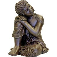 Exotic Environments Resting Buddha Statue