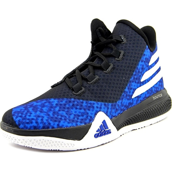 Adidas Light Em Up 2 J Youth Round Toe Synthetic Blue Basketball Shoe