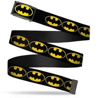 Batman Fcg Black Yellow Black Frame Bat Signal 2 Black Yellow Black Web Belt