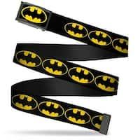 Batman Fcg Black Yellow Black Frame Bat Signal 2 Black Yellow Black Web Belt
