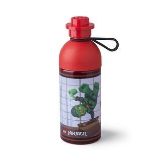 LEGO 17oz Hydration Bottle, Transparent Red (Ninjago) - Multi