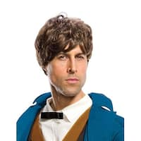 Fantastic Beasts And Where To Find Them Newt Adult Costume Wig - Brown
