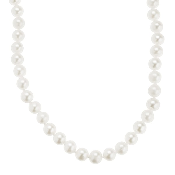 Honora 6-7 mm Freshwater Pearl Classic Strand Necklace in 10K Gold