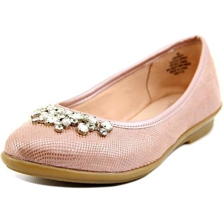 Easy Spirit e360 Kirsty Women W Round Toe Canvas Pink Flats