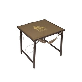 """Delta Waterfowl Gear Hunting Dog Stand Aluminum 26""""x24"""" Brown"""
