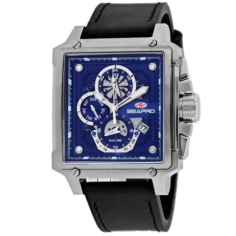 Seapro Men's Blue Dial Watch - SP0112 - One Size
