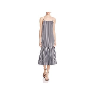 Elizabeth and James Womens Semi-Formal Dress Sateen Striped (3 options available)