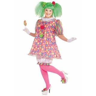 Plus Size Tickles the Clown Costume