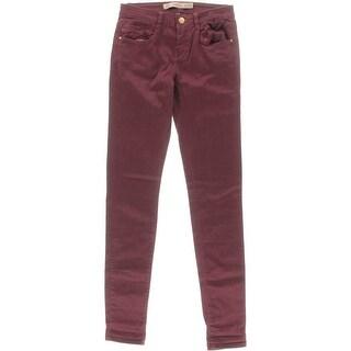 Zara Trafaluc Womens Skinny Jeans Twill Mid-Rise - 00