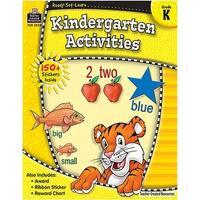 Ready Set Learn Kindergarten Activities Gr K