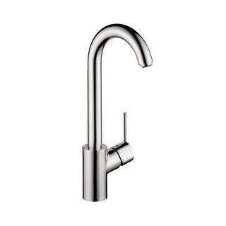 Hansgrohe 4287 Talis S High-Arc Bar Faucet with Quick Cleaning Aerator - Includes Lifetime Warranty