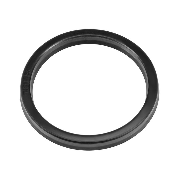Hydraulic Seal, Piston Shaft USH Oil Sealing O-Ring, 55mm x 65mm x 6mm