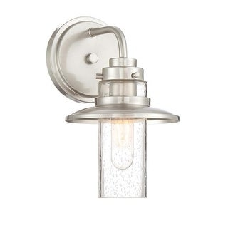 "Designers Fountain 91501 Dover Single Light 6-1/2"" Wide Bathroom Sconce with a S"