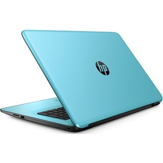 "HP 17-x042DS Intel N3710 Quad-Core, 2TB HDD, 17.3"" HD+ WLED Touchscreen Laptop - Blue"