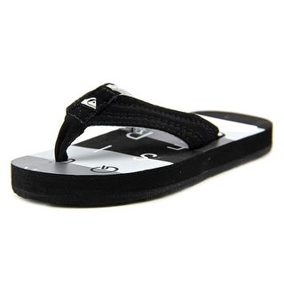 Quiksilver Basis Open Toe Synthetic Thong Sandal