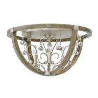 Fredrick Ramond FR37231 3 Light Flush Mount Ceiling Fixture From the Abingdon Collection