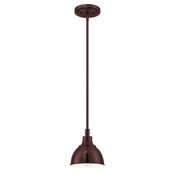 "Jeremiah Lighting 35991 Timarron 1-Light Mini Indoor Pendant - 7"" Wide - n/a"