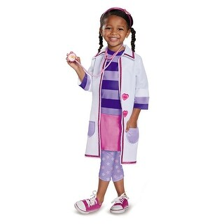 Toddler Deluxe Doc McStuffins Toy Hospital Costume
