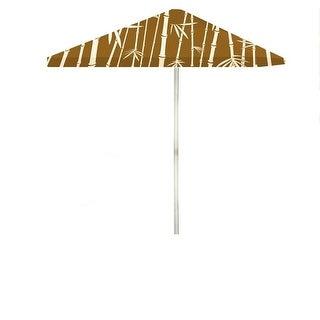 8 ft. Patio Umbrella with Steel Frame & Vents - Tiki Palapa