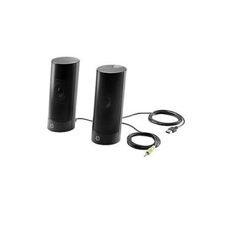 Hp N3r89at Usb Business Speakers V2 , Black, 4 W