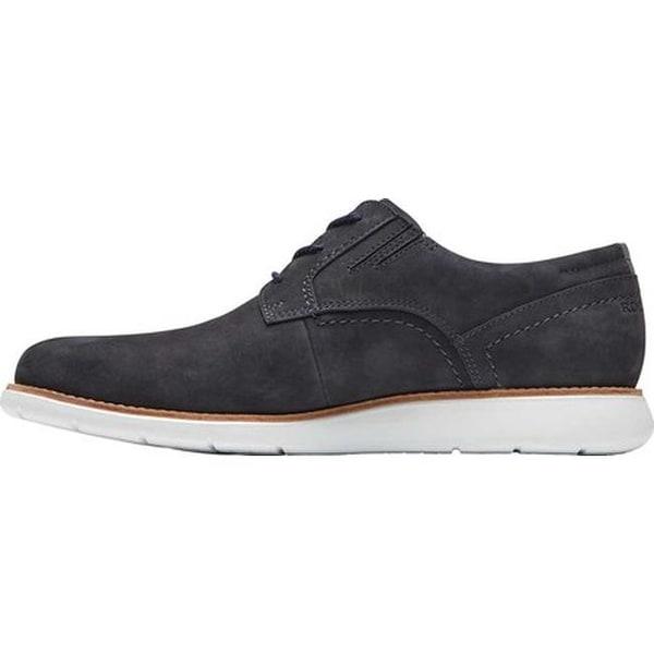 Rockport Men/'s Black Leather Total Motion Sport Dress Plain Toe